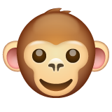 Monkey Face on WhatsApp 2.19.244