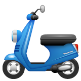 Motor Scooter on WhatsApp 2.19.244