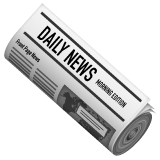 Rolled-Up Newspaper on WhatsApp 2.19.244