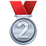 2nd Place Medal on WhatsApp 2.19.244