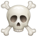 Skull and Crossbones on WhatsApp 2.19.244