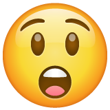 Astonished Face on WhatsApp 2.19.352