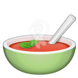 Bowl with Spoon on WhatsApp 2.19.352