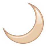 Crescent Moon on WhatsApp 2.19.352