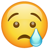 Crying Face on WhatsApp 2.19.352