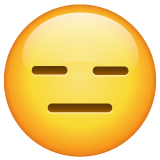 Expressionless Face on WhatsApp 2.19.352