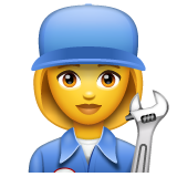 Woman Mechanic on WhatsApp 2.19.352