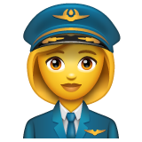 Woman Pilot on WhatsApp 2.19.352