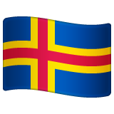 Flag: Åland Islands on WhatsApp 2.19.352