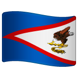 Flag: American Samoa on WhatsApp 2.19.352