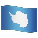 Flag: Antarctica on WhatsApp 2.19.352