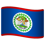 Flag: Belize on WhatsApp 2.19.352