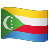 Flag: Comoros on WhatsApp 2.19.352