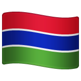 Flag: Gambia on WhatsApp 2.19.352