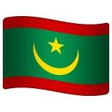 Flag: Mauritania on WhatsApp 2.19.352