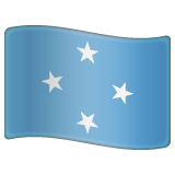 Flag: Micronesia on WhatsApp 2.19.352
