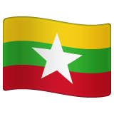 Flag: Myanmar (Burma) on WhatsApp 2.19.352