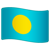 Flag: Palau on WhatsApp 2.19.352