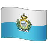 Flag: San Marino on WhatsApp 2.19.352