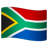 Flag: South Africa on WhatsApp 2.19.352