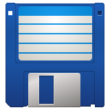 Floppy Disk on WhatsApp 2.19.352