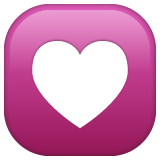 Heart Decoration on WhatsApp 2.19.352