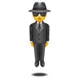 Person in Suit Levitating on WhatsApp 2.19.352