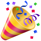 Party Popper on WhatsApp 2.19.352