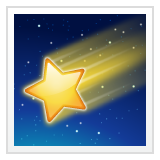 Shooting Star on WhatsApp 2.19.352