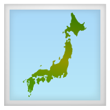 Map of Japan on WhatsApp 2.19.352
