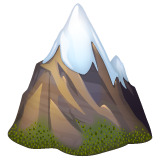 Snow-Capped Mountain on WhatsApp 2.19.352