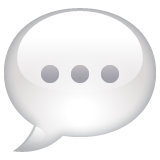 Speech Balloon on WhatsApp 2.19.352