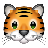 Tiger Face on WhatsApp 2.19.352