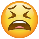 Tired Face on WhatsApp 2.19.352