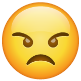 Angry Face on WhatsApp 2.20.198.15