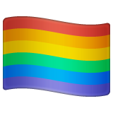 Rainbow Flag on WhatsApp 2.20.198.15