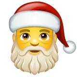 Santa Claus on WhatsApp 2.20.198.15