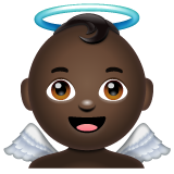 Baby Angel: Dark Skin Tone on WhatsApp 2.20.206.24