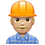 Construction Worker: Medium-Light Skin Tone on WhatsApp 2.20.206.24