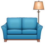 Couch and Lamp on WhatsApp 2.20.206.24