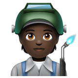Factory Worker: Dark Skin Tone on WhatsApp 2.20.206.24
