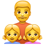 Family: Man, Girl, Girl on WhatsApp 2.20.206.24