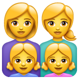Family: Woman, Woman, Girl, Girl on WhatsApp 2.20.206.24
