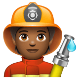 Firefighter: Medium-Dark Skin Tone on WhatsApp 2.20.206.24