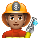 Firefighter: Medium Skin Tone on WhatsApp 2.20.206.24