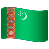 Flag: Turkmenistan on WhatsApp 2.20.206.24