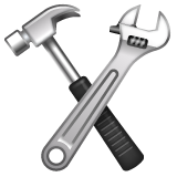 Hammer and Wrench on WhatsApp 2.20.206.24