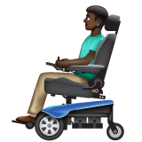 Man in Motorized Wheelchair: Dark Skin Tone on WhatsApp 2.20.206.24