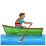 Man Rowing Boat: Medium Skin Tone on WhatsApp 2.20.206.24