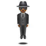 Person in Suit Levitating: Medium-Dark Skin Tone on WhatsApp 2.20.206.24